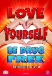 LOVE YOURSELF. BE DRUG FREE.™