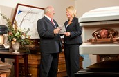 Let us help you plan the funeral