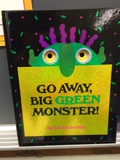 Go Away, Big Green Monster!  Kindergarten Reading