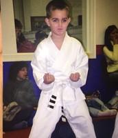 ¡Hiya! ¡Hacía el karate!