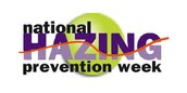National Hazing Prevention Week.