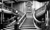 Inside the Titanic (grand staircase)