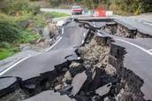 Despues de los efectos de un terremoto.