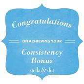 $100 Consistency Bonus