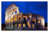 Famouse building in rome: Colosseum