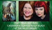 Cassandra Clare and Holly Black