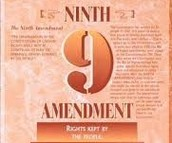 Amendment #9 Rights retained by people