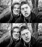 Jensen and his co- star Jared