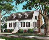 The Cape Cod House