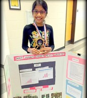 Shivani Won the Science Fair!
