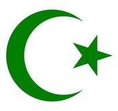 THe symbol of Islam-Crescent star and moon