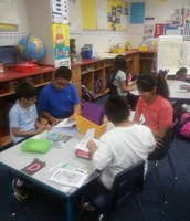 Buddy Reading With 4th Grade DL Students!