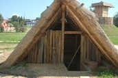 Some of the jumanos lived in teepees like this.