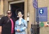 Ms. Sherlin with Jane Austen