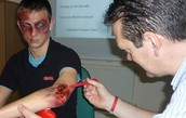 Casualty TV Series -  Cosmetic Makeup Effects