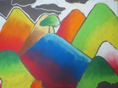 Student analogous landscape