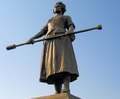 Pitcher's Statue