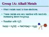 Family, Valence Electron Configuration