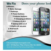 Specializes in replacement and phone battery repair Cherry Hill