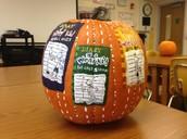 Diary of a Wimpy Kid pumpkin