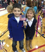 Sibling Patriotism!