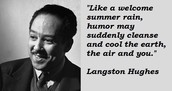 POETRY- 11 minute video about Langston Hughes