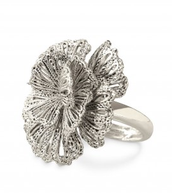 Geneve Lace Ring Silver
