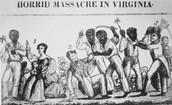 Nat Turner Massacre in Virginia