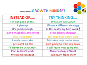 If assessment does run alongside instruction = growth mindset and engagement