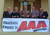 The 5 Chatham County Board of Commissioners