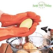 guante pela patatas