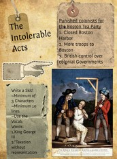 The Intolerable Acts Explanation