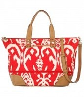 The Getaway -Red Ikat