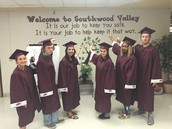 Seniors who attended Southwood Valley Elementary