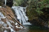 Courthouse Falls, Pisgah National Forest