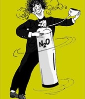 N2O -(закись азота)