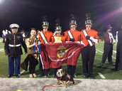 Marching Vikings Win Band Competition on Oct. 3