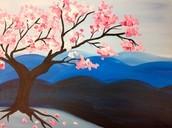 Sangria and Cherry blossoms $45.00 includes fresh sangria Sunday 12:00 pm