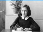 Having courage when faced by obstacles in the Diary of Anne Frank