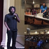 Author Jason Reynolds Visits Marshall
