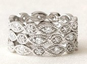 Stackable Deco Ring - Size 6