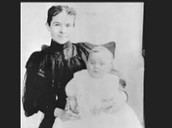 Henry Fords wife and daughter