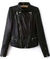 Basic Leather Jacket