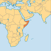 This is where Somalia is located