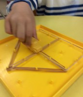 Making shapes on the GeoBoard