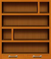 Rectangular Book Shelf