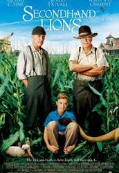 Secondhand Lions starring Robert Duvall and Sir Michael Cain