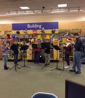 Band Ensemble Performing at Barnes and Noble Book Fair