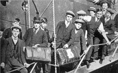 why did immigrants move from their home?