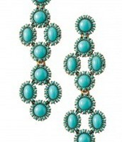 Sardinia Chandeliers - Turquoise, $59